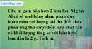 Bài 29.17 Trang 42 SBT hóa học 8