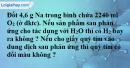 Bài 29.18 Trang 42 SBT hóa học 8
