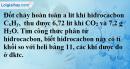 Bài 29.19 Trang 42 SBT hóa học 8