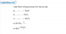 Bài 29.3 Trang 40 SBT hóa học 8