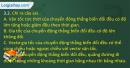 Bài 3.2, 3.3, 3.4 trang 11,12 SBT Vật lí 10