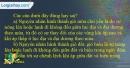 Câu 8 trang 36 SBT địa 10