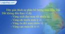 Câu 6 trang 38 SBT địa 10