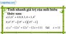 Bài 55 trang 14 SBT toán 8 tập 1