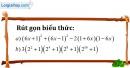 Bài 56 trang 14 SBT toán 8 tập 1