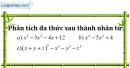 Bài 57 trang 14 SBT toán 8 tập 1