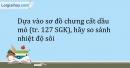 Bài 40.3 Trang 50 SBT Hóa học 9