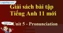 Pronunciation - trang 34 Unit 5 SBT Tiếng anh 11 mới