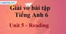 Reading  - Trang 44 Unit 5 VBT tiếng anh 6 mới