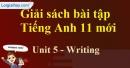 Writing - trang 41 Unit 5 SBT Tiếng anh 11 mới