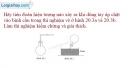 Bài 20.3 trang 63 SBT Vật lí 6