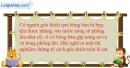 Bài 20.5 trang 63 SBT Vật lí 6