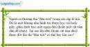Bài 21.14 trang 68 SBT Vật lí 6