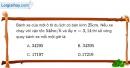 Bài 2.7 trang 6 SBT Vật lí 8