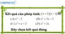 Bài I.1 phần bài tập bổ sung trang 14 SBT toán 8 tập 1