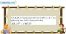 Bài 1.39 trang 38 SBT hình học 11