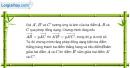 Bài 1.40 trang 38 SBT hình học 11