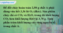 Bài 20.7 trang 29 SBT hóa học 11