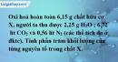 Bài 20.8 trang 29 SBT hóa học 11