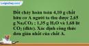 Bài 21.5* trang 30 SBT hóa học 11