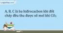 Bài 42.3 Trang 52 SBT Hóa học 9