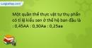 Bài 3 SBT trang 62 SBT Sinh học 9