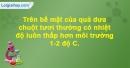 Bài 3 trang 33 SBT Sinh học 10