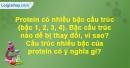 Bài 4 trang 33 SBT Sinh học 10