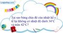 Bài 22.6 trang 70 SBT Vật lí 6