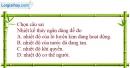 Bài 22.8 trang 70 SBT Vật lí 6