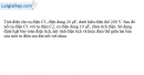 Bài 6.9 trang 14 SBT Vật Lí 11
