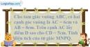 Bài 5.3 phần bài tập bổ sung trang 163 SBT toán 8 tập 1