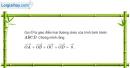 Bài 1.12 trang 21 SBT hình học 10