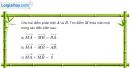 Bài 1.14 trang 21 SBT hình học 10