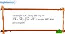 Bài 1.15 trang 21 SBT hình học 10
