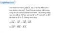 Bài 1.19 trang 21 SBT hình học 10