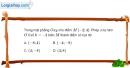 Bài 1.74 trang 41 SBT hình học 11