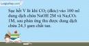 Bài 18.13 trang 46 SBT Hóa học 10