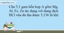 Bài 18.9 trang 45 SBT Hóa học 10