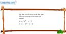 Bài 2.18 trang 41 SBT đại số 10