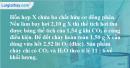 Bài 22.10 trang 32 SBT hóa học 11