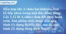 Bài 22.7 trang 32 SBT hóa học 11