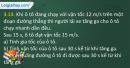 Bài 3.13 trang 13 SBT Vật lí 10