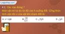Bài 4.1, 4.2 trang 14,15 SBT Vật lí 10