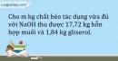 Bài 47.5* Trang 57 SBT Hóa học 9