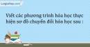 Bài 50.1 Trang 58 SBT Hóa học 9