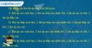 Câu 1 trang 33 SBT địa 10