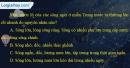 Câu 5 trang 43 SBT địa 10