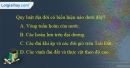 Câu 3 trang 56 SBT địa 10