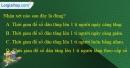 Câu 3 trang 60 SBT địa 10